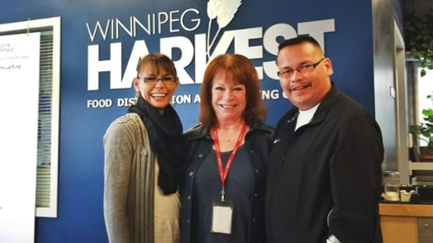 Kirby and Marie Fontaine donated $100,000 to Winnipeg Harvest, the Christmas Cheer Board, and Rossbrook House on Wednesday.