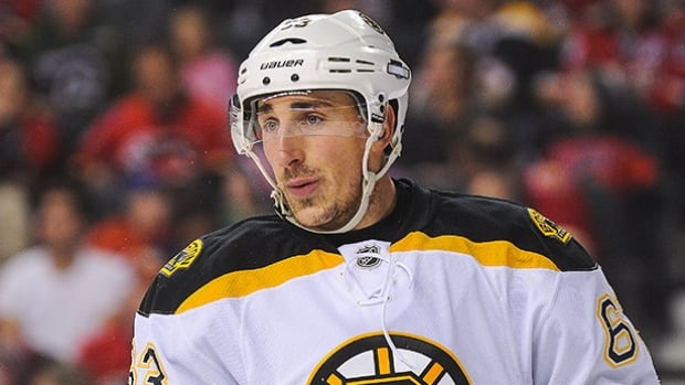 Brad Marchand was slapped with a three-game suspension for clipping Ottawa Senators defenceman Mark Borowiecki on Tuesday.
