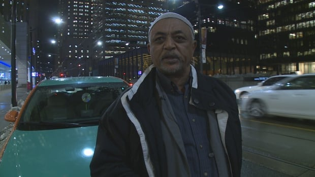 Khalil Talke turned in his taxi licence after 27 years because he says he can no longer make a living due to high operating costs and increased competition.