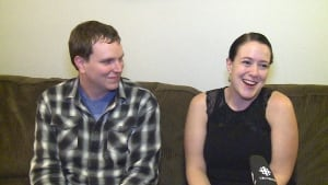 Neale Genereux and Kelly Shkuratoff