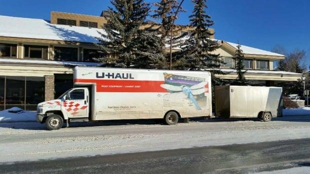 Moving truck stolen Surrey