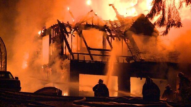 Surrey Tilbury Place fire