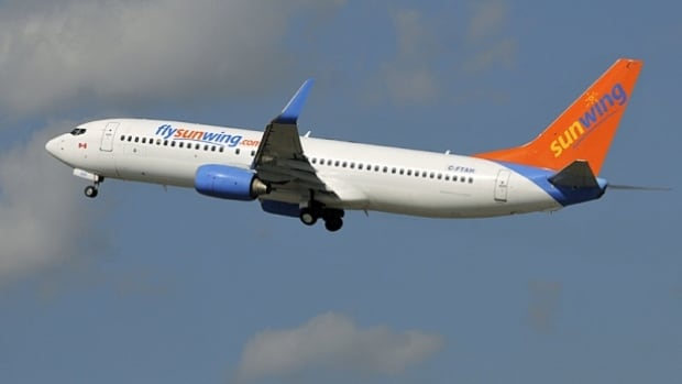A passenger on board a Sunwing flight from Cuba to Halifax says it became a lengthy ordeal when the plane didn't land in Halifax owing to high winds.