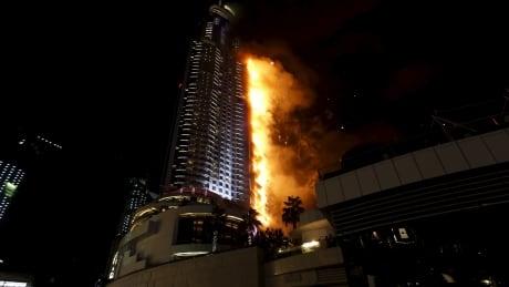 EMIRATES-DUBAI/FIRE