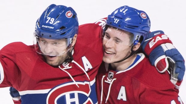 Montreal Canadiens' Brendan Gallagher (11) has missed 17 games due to a hand injury that required surgery.