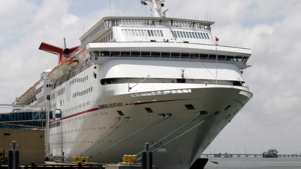 The Carnival Ecstasy is investigating after an Italian electrician aboard the cruise ship was killed while working on an elevator during the final leg of a three-day cruise from Miami.