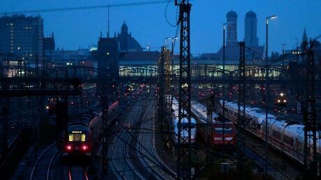 Germany Train Strike