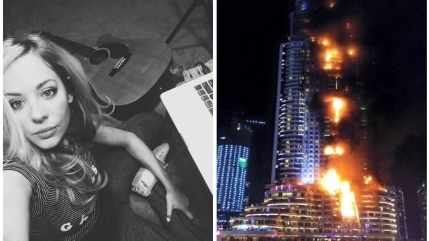 Medicine Hat musician, MacKenzie Porter is vacationing with her family in Dubai and witnessed the New Years Eve fire at the Address Hotel
