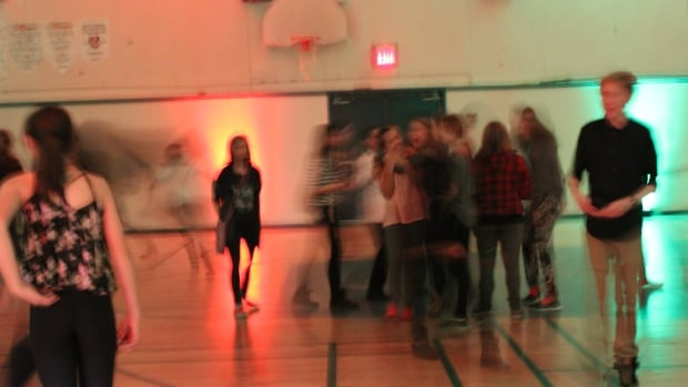 Around 240 students attend the dances, especially the recent holiday bash.