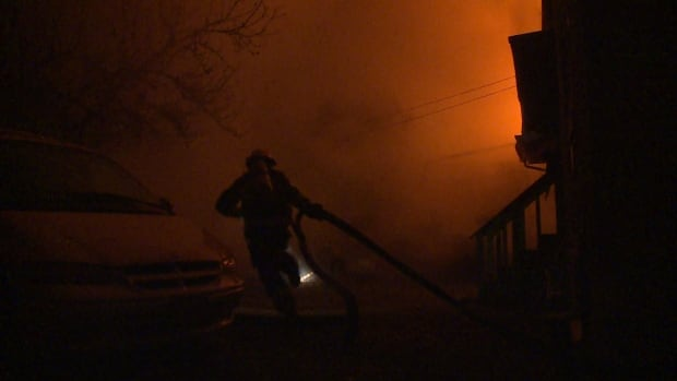 Vancouver Lily St. fire