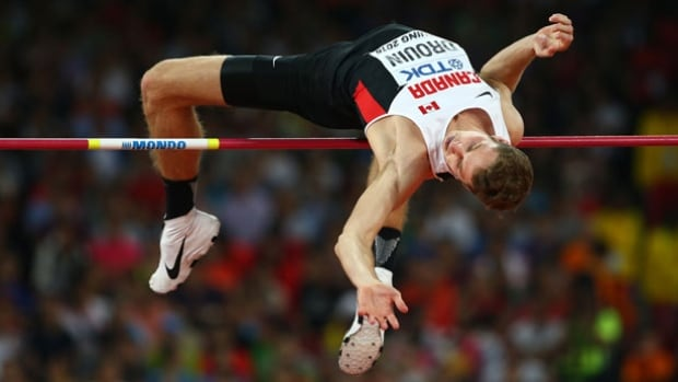 High jump world champion Derek Drouin will try to help Canada raise its medal count at the Rio Olympics in August.