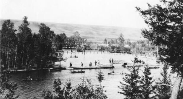 Bowness Park circa 1920