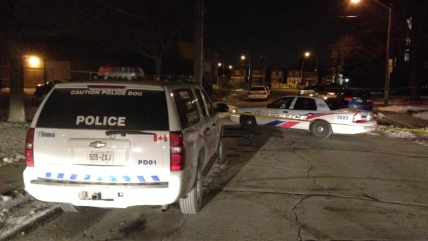 Emergency crews were called to Nashville Avenue at about 1 a.m. by reports of a shooting.