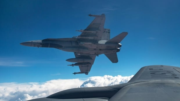 Defence Minister Harjit Sajjan told the House of Commons on Wednesday that Canada's CF-18s flew their last mission on Feb. 15.