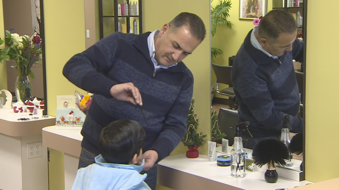 Family of alan kurdi drowned syrian boy opens hair salon for 16 image the family salon