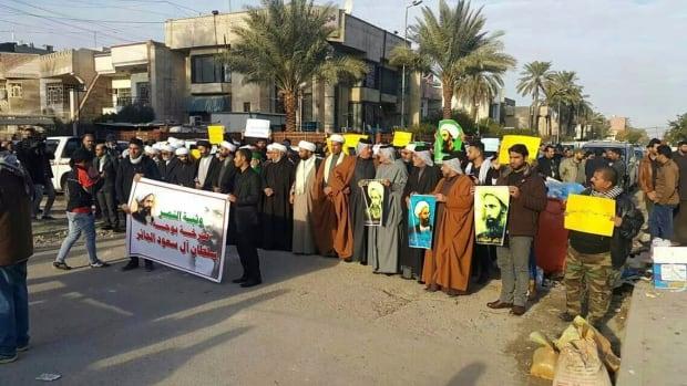 Mideast Iraq Saudi Arabia