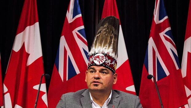 Ontario Regional Chief Isadore Day says First Nations have become reliant on winter roads, which are suffering due to warm weather patterns associated with climate change.