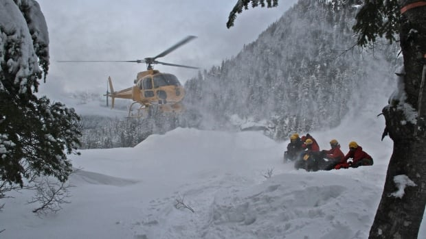 North Shore Rescue says two hikers are lost on Crown Mountain.