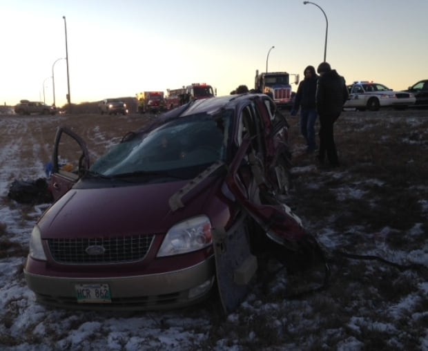 The four people in the van were from Swan River, Manitoba