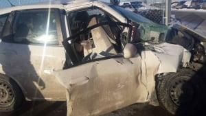 Shaylene Wilson car damage