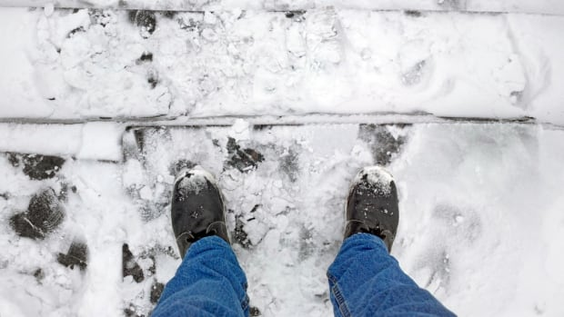 Vancouver and other Lower Mainland cities have bylaws that the sidewalks have to be cleared by 10 a.m., but don't get specific on who does the clearing.