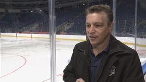 Patrick Dom, peewee hockey organizer