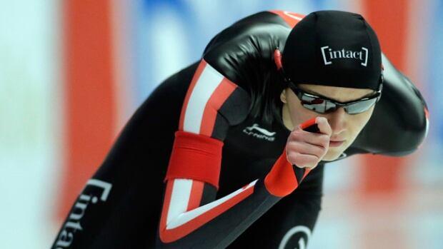 Ottawa's Isabelle Weidemann won her first two gold medals at the senior level over the opening days of competition at the Canadian single distance long track championships.