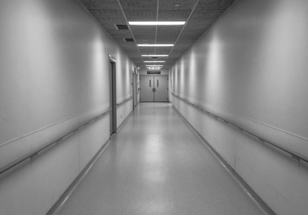 Sudbury Regional Hospital hallway