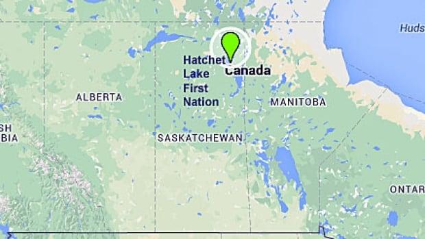 Hatchet Lake First Nation is in northeastern Saskatchewan, about 700 kilometres northeast of Prince Albert.