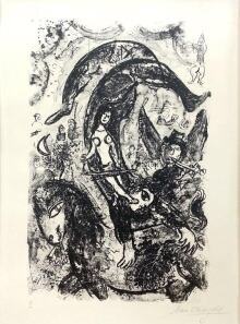 MarcChagall-TheDream-Ed3640-Lithograph