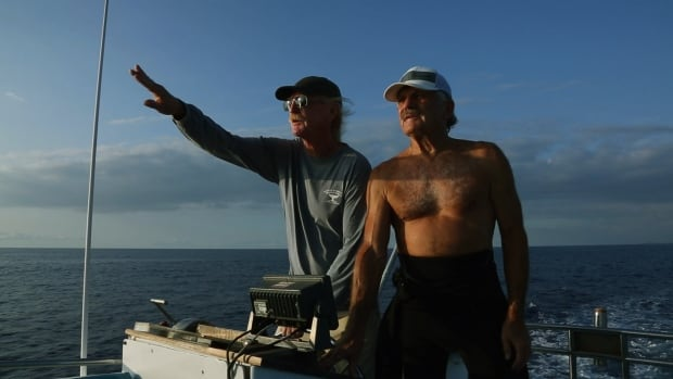 Rick Rosenthal and Captain Bishop