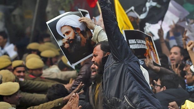 The execution of Shia cleric Nimr al-Nimr last week continues to reverberate across the Muslim world and stretched as far as India where angry Shia Muslims tried to attack the Saudi embassy in New Delhi yesterday.