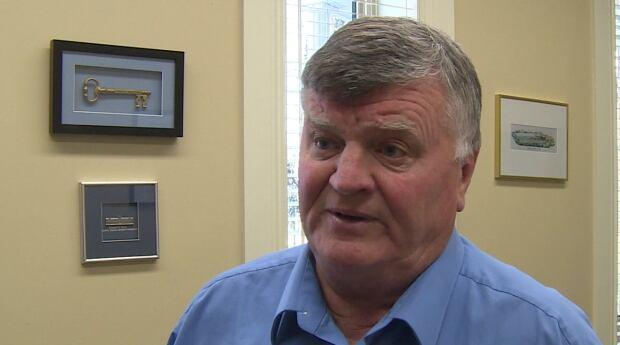 Claude Elliott, mayor of Gander