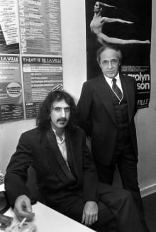 Pierre Boulez and Frank Zappa