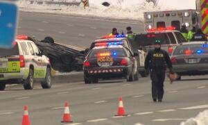 OPP fatal crash Highway 416 417 Jan 6 2016