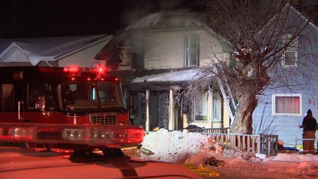 Castle House Fire