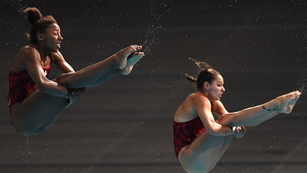 Canadian divers Jennifer Abel and Pamela Ware are projected for a silver medal at the Rio Games in the 3m springboard synchro event, according the Olympic medal predictor from Infostrada.