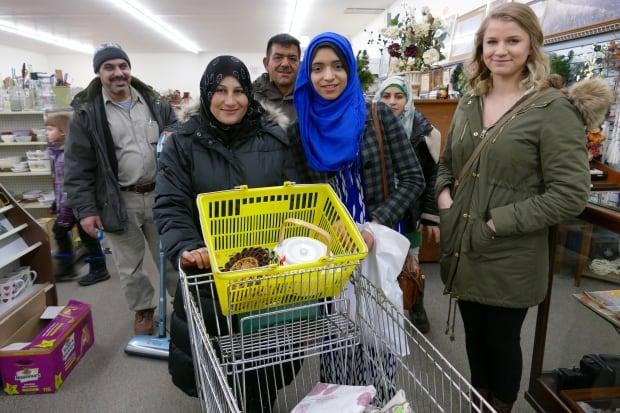 Daas family and friends in Altona, Manitoba