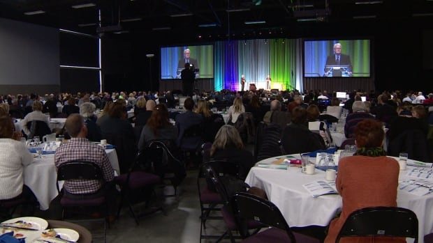 About 700 realtors got together Wednesday at Northlands Expo Centre for the release of the annual housing market forecast.