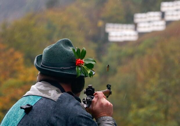 SWITZERLAND gun culture Ruetlischiessen shooting competition 2013