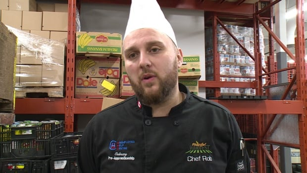 Robert Bertozzi, the head chef at Windsor's Plentiful Harvest Community Kitchen, says food prices have been rising in recent weeks.