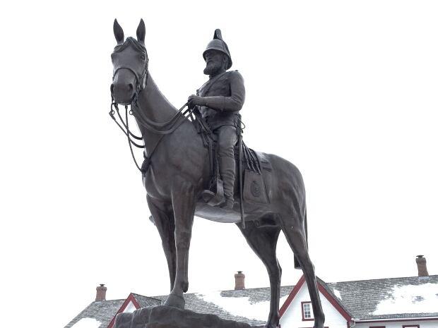Col. Macleod at Fort Calgary