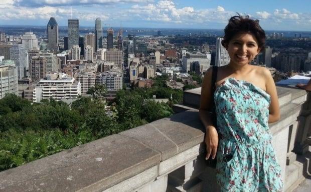 Victoria Montalvo, new montrealer
