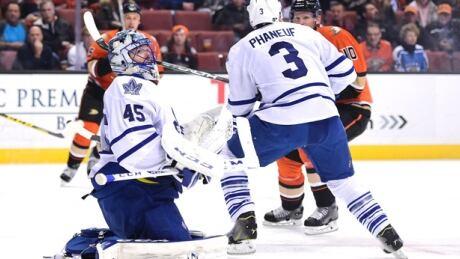 Leafs Swamp Ducks With Parenteau Goals, Bernier Saves