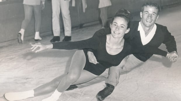 """Otto and Maria Jelinek are seen in this handout photo taken in the 1960s.  The exhibit """"Perfect Landings,"""" presented in the museum's Hall of Tribute in partnership with Skate Canada, is set to run until March 20."""