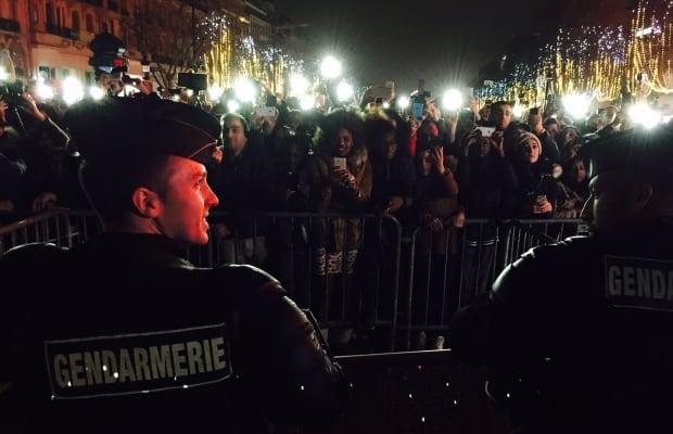 Paris New Year's Eve, Dec. 31, 2015