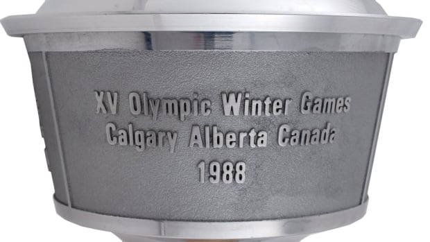Bids begin Jan. 14 for the Calgary '88 Winter Olympic torch.