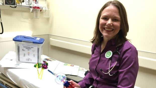 Dr. Jennifer Thull-Freedman is a pediatric emergency physician working in the comfort care program.