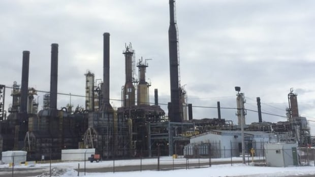North Atlantic, which operates the Come By Chance refinery, says its operations team first discovered a leak coming from a pipe at its dock, or 'jetty' on Monday.