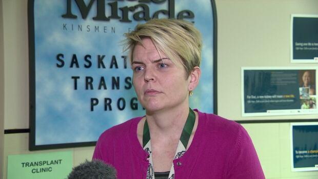 Erin Schimpf, from the Saskatchewan Transplant Program.